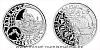 Stříbrná medaile Staroměstský orloj - Blíženci