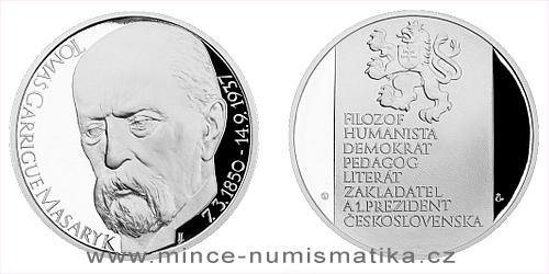 Stříbrná medaile Tomáš Garrigue Masaryk