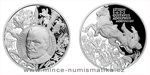 Stříbrná medaile Dějiny válečnictví - Bitva u Lützenu