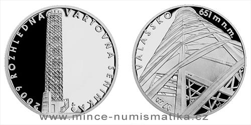 Stříbrná medaile Rozhledna Vartovna