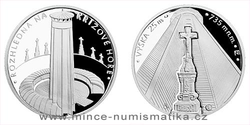 Stříbrná medaile Rozhledna na Křížové hoře