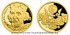 Zlatá medaile s motivem 20 Kč bankovky - Přemysl Otakar I.