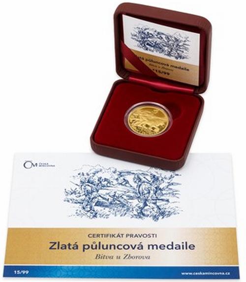 2017_Au_medaile_Bitva_u_Zborova_proof_1_etue