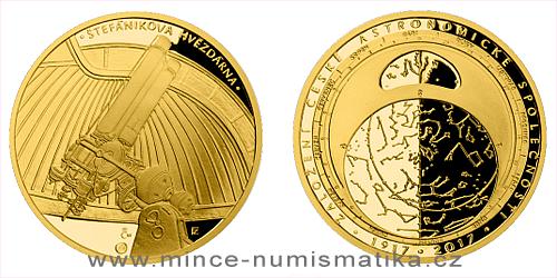 Zlatá půluncová medaile Založení České astronomické společnosti