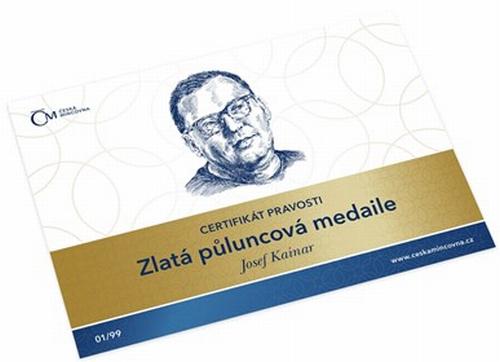 2017_Au_medaile_Josef_Kainar_karta