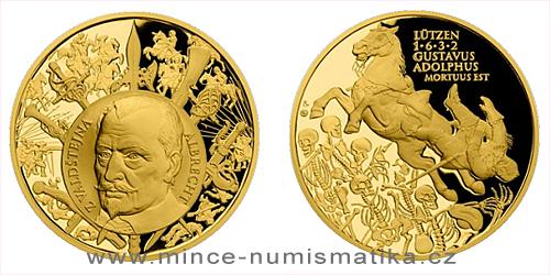 Zlatá uncová medaile Dějiny válečnictví - Bitva u Lützenu