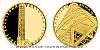 Zlatá čtvrtuncová medaile Rozhledna Vartovna