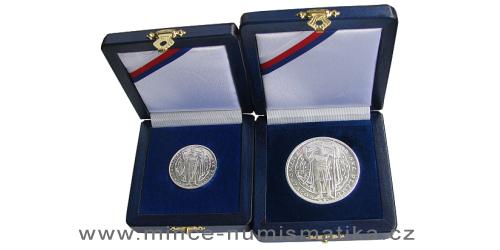 2017 - Velká a malá stříbrná medaile na milénium sv. Václava od Otakara Španiela 1929