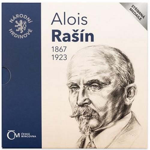 2017_Stribrna_medaile_Alois_Rasin_blistr_1