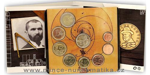Sada oběžných mincí SR 2017 - Svetové vynálezy slovenských vynálezcov – Ján Bahýľ