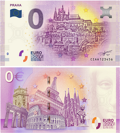 2018_0_euro_souvenir_Praha_bankovka