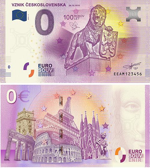 2018_0_euro_souvenir_Vznik_CSR_bankovka