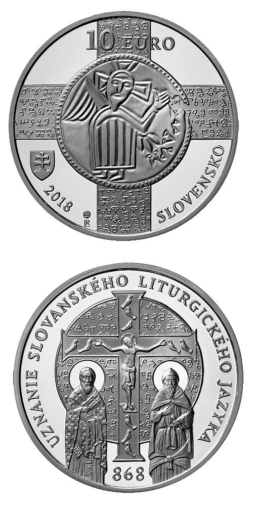 2018_10_euro_slovansky_liturgicky_jazyk_mince_proof