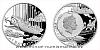 Stříbrná mince Fantastický svět Julese Verna - Vzdušná loď Albatros