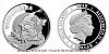 Stříbrná mince Pohádky z mechu a kapradí - Vochomůrka