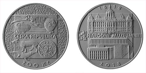 200 Kč - 200. výročí - Založení Národního muzea