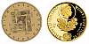 Zlatá mince Převratné osmičky našich dějin - 1938 Mnichovská dohoda