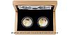 Sada dvou stříbrných mincí Zlatá růže od papeže