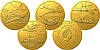 Sada čtyř zlatých mincí 4x 10 NZD Českoslovenští letci v RAF – Významné události