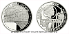 Platinová uncová mince 50 NZD UNESCO - Zámek a zámecký areál Litomyšl