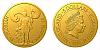 Zlatá mince Patroni - Svatý Florian