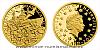 Zlatá mince 5 NZD Válečný rok 1943 - Bitva o Guadalcanal