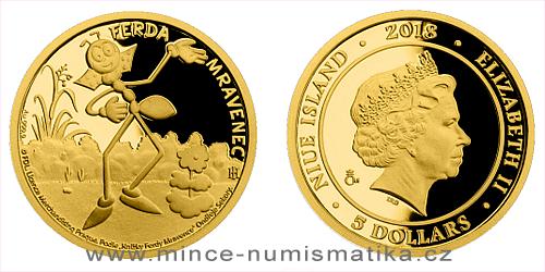 Zlatá mince Ferda Mravenec