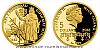 Zlatá mince Doba Jiřího z Poděbrad - Diplomat míru
