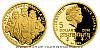 Zlatá mince Doba Jiřího z Poděbrad - Manžel a otec