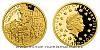 Zlatá mince 5 NZD Válečný rok 1943 - Povstání ve varšavském ghettu