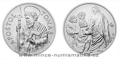 Stříbrná medaile Apoštol Tomáš
