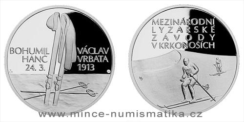 Stříbrná medaile Příběhy naší historie - Hanč a Vrbata