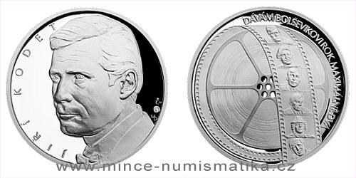 Stříbrná medaile Hvězdy stříbrného plátna - Jiří Kodet