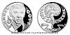Stříbrná uncová číslovaná medaile Karel Gott - Zpěvák