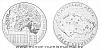 Stříbrná půlkilogramová medaile Statutární město Mladá Boleslav
