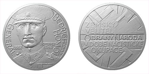 Stříbrná medaile Národní hrdinové - Bedřich Homola