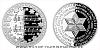 Stříbrná medaile Vánoční koleda Tichá noc