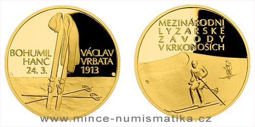 Zlatá čtvrtuncová medaile Příběhy naší historie - Hanč a Vrbata
