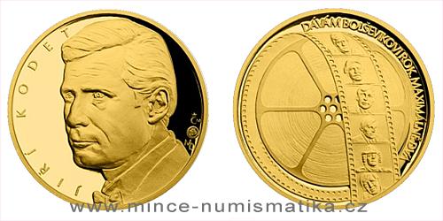 Zlatá čtvrtuncová medaile Hvězdy stříbrného plátna - Jiří Kodet