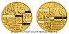 Zlatá půluncová medaile Vydání Klaudyánovy mapy