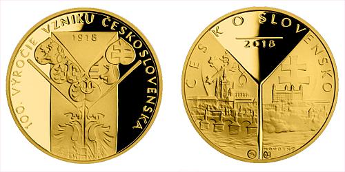 2018_Au_sada_medaili_Odveky_sen_Proof_medaile_2