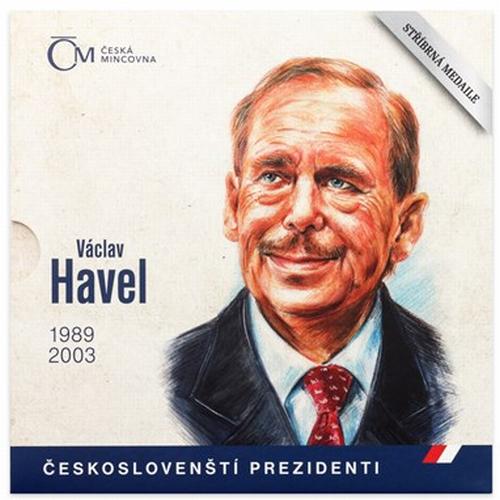 2018_stribrna_medaile_Vaclav_Havel_proof_blistr_1