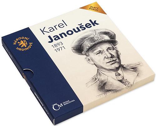 2018_zlaty_dukat_Narodni_hrdinove_Karel_Janousek_blistr_2