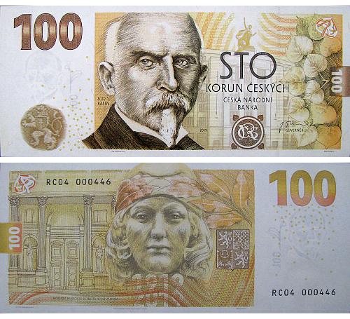 2019_100_Kc_pametni_bankovka_Rasin_5_bankovka