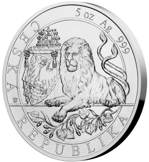 2019_10_NZD_Ag_Cesky_lev_5_Oz_standard_mince