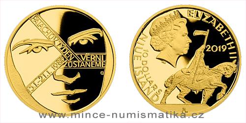 Zlatá mince Cesta za svobodou - Palachův týden