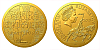 Zlatá mince Cesta za svobodou - Sametová revoluce