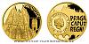 Zlatá čtvrtuncová mince Vznik královského hlavního města Praha - Hradčany