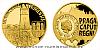 Zlatá čtvrtuncová mince Vznik královského hlavního města Praha - Staré Město pražské