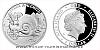 Stříbrná mince Ferda a Hlemýžď